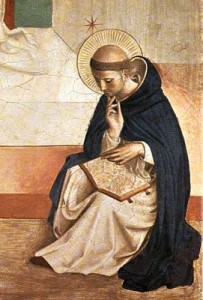 St Dominic with Bible