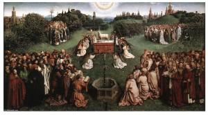 van eyck adoration
