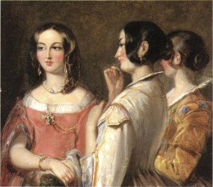 Thomas Sully (1783-1872). Gossip