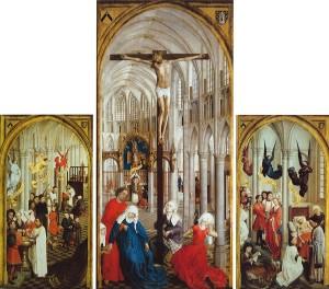 Seven Sacraments Altarpiece, Rogier van der Weyden