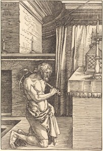 King David Doing Penance, Albrecht Durer