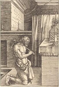 King David Doing Penance, Albrecht Durer