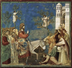 Giotto, The Entrance Into Jerusalem