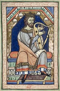 King David, Westminster Psalter