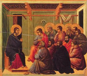 jesus preaching to 12